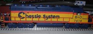 Train 1 4th of July Locomotive 2 B&O Chessie SD40-2.jpg