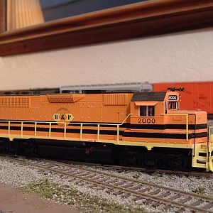 Atlas GP38 B&P #2000