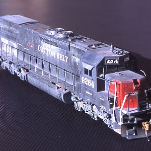 Cotton Belt SD45T-2