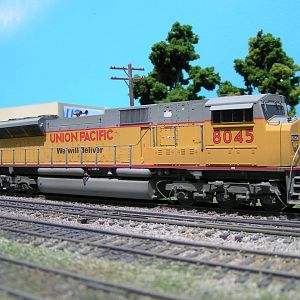 UP 8045 SD90/43 mac