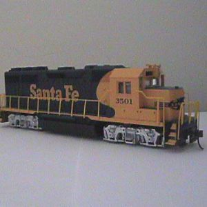 ATSF Yellow Bonnett!