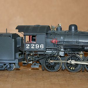 KITBASHED SP T-26 4-6-0