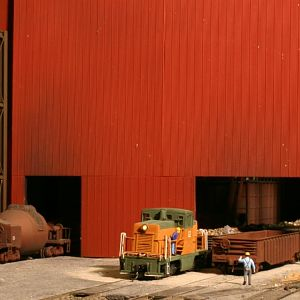 Switching scrap metal gons at US Steel - Houghschnaegel Works