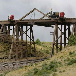 Trestle with 3 ' track