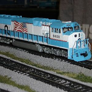 Rock SD70MAC