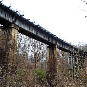L&N RR Cane Creek Branch Trestle