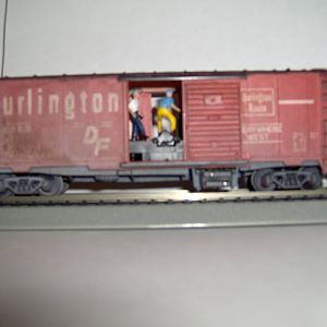 O'l Burlington Box Car 40'