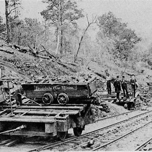 Early Ore Mining at Irondale, Al