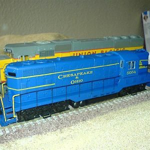 C&O Gp7 Phase II