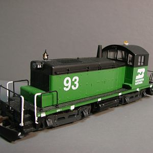 Burlington Northern SW1 #93