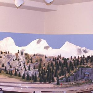 Parkdale's FIrst Mountain range
