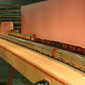 HO scale Super Chief by Walthers.
