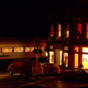 Night Time at Depot Street