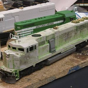 Utah Belt Inspired SD60M