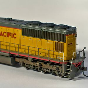 Model Photography - Athearn Genesis SD70M
