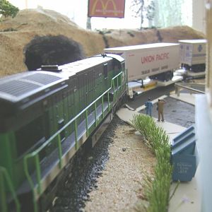 C30-7 BN/WF-Model Railroad Brazil