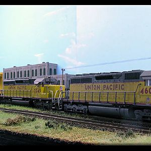 A trio of UP`s SD40-2