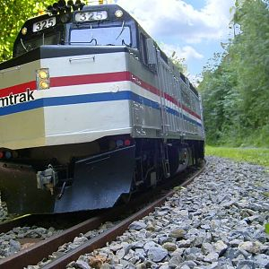 Amtrak F40PH Ph III