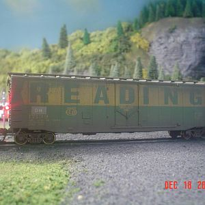 Old Reading Boxcar
