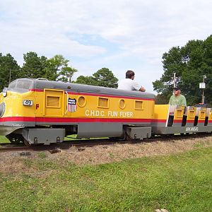 "24"" NAD Train in Central AR"