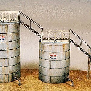 Early Verticle Oil Tanks