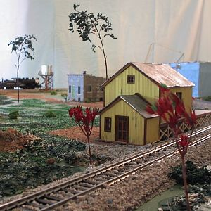 Detail of trees. Pree 1960 layout.