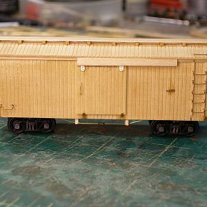 SPL 30' ventilated boxcar