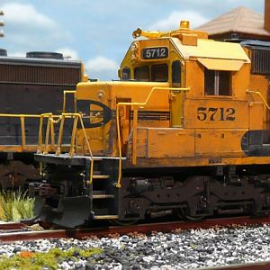 Weathering SD45-2