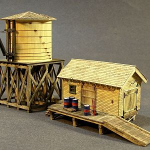 water tower shed