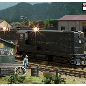 Hillbrook Yard PRR HO scale layout