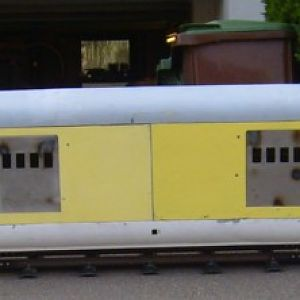 M-10005: aux. power baggage car