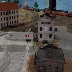 Freight Station and Iron Works