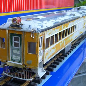PRR #4663 streamlined motor car