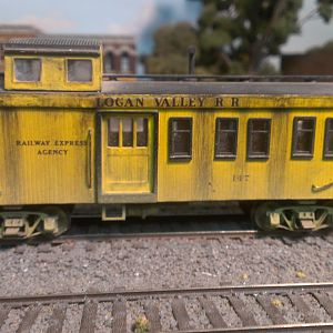 Logan Valley Caboose