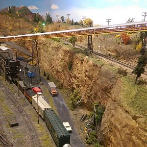 Mine Scene at the Livingston Model RR Club