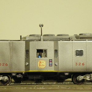KCS Stainless Steel Caboose