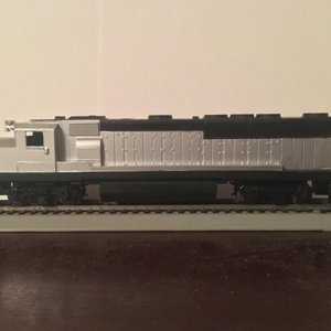 MBTA GP40MC