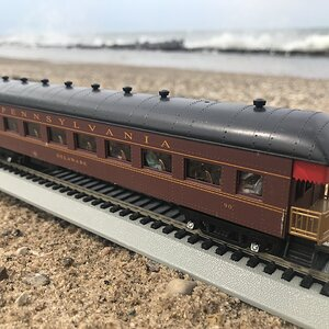Pennsylvania Railroad Observation Car