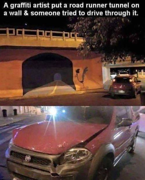 humor-train-funny-pictures-a-tunnel-road-some-who-crashed-through-a-painted-tunnel-road.jpg