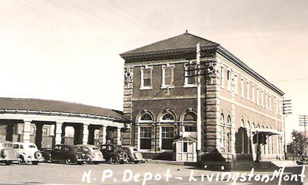 N. P. Depot, Livingston, Montana 1940s.preview.jpg