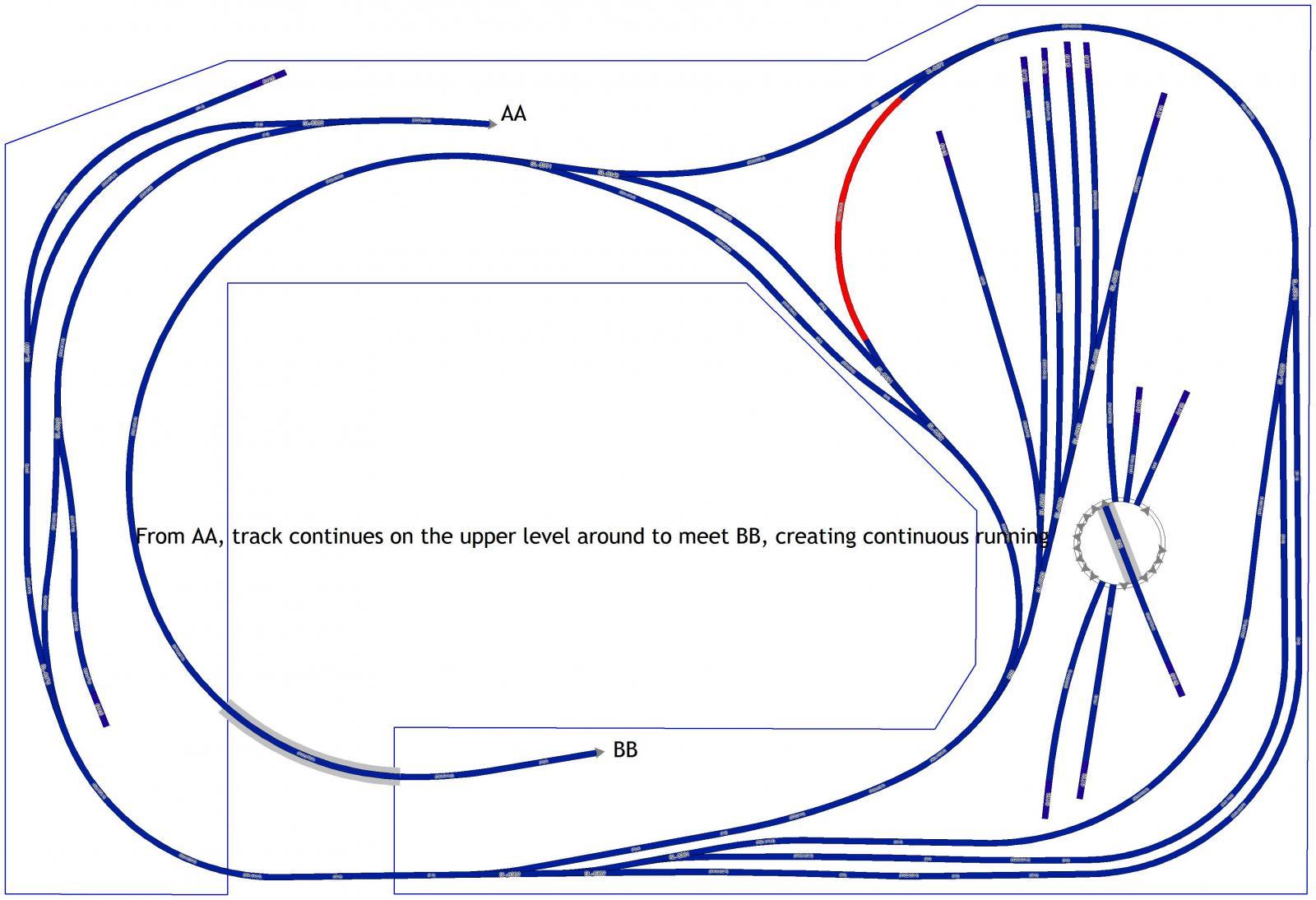 reverse loop plus wye in dcc wiring. Black Bedroom Furniture Sets. Home Design Ideas