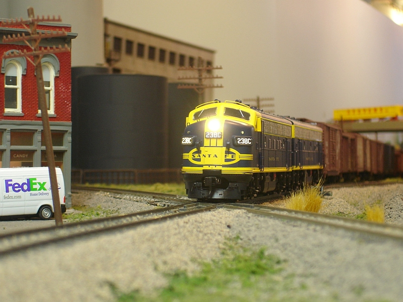 ATSF Crosses Itself