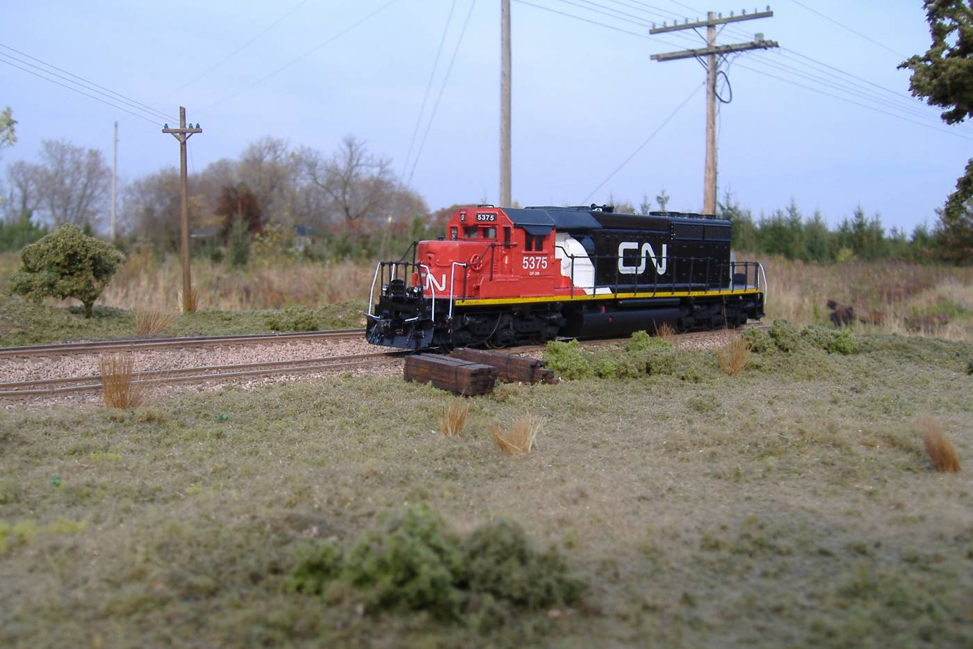 Canadian National SD40-2  #5375