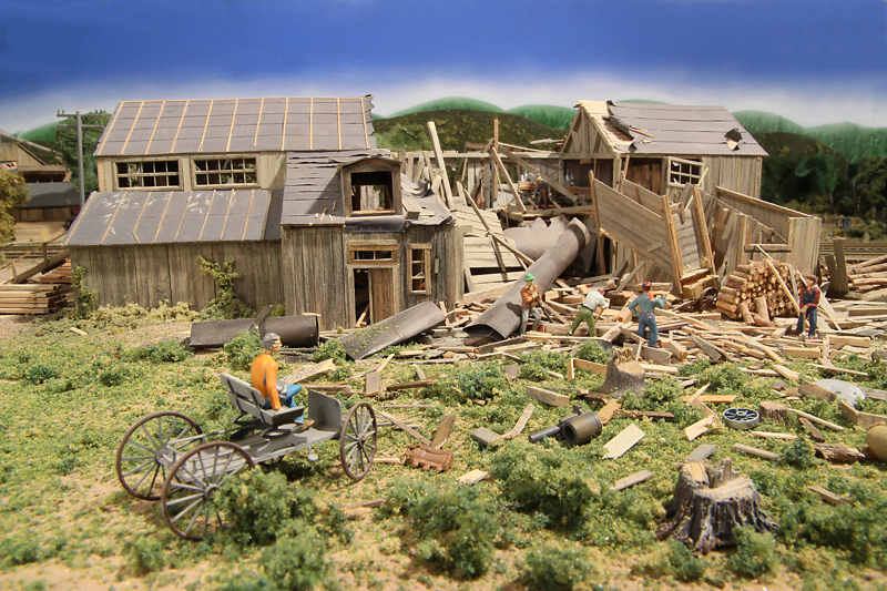 Exploded Sawmill Photos