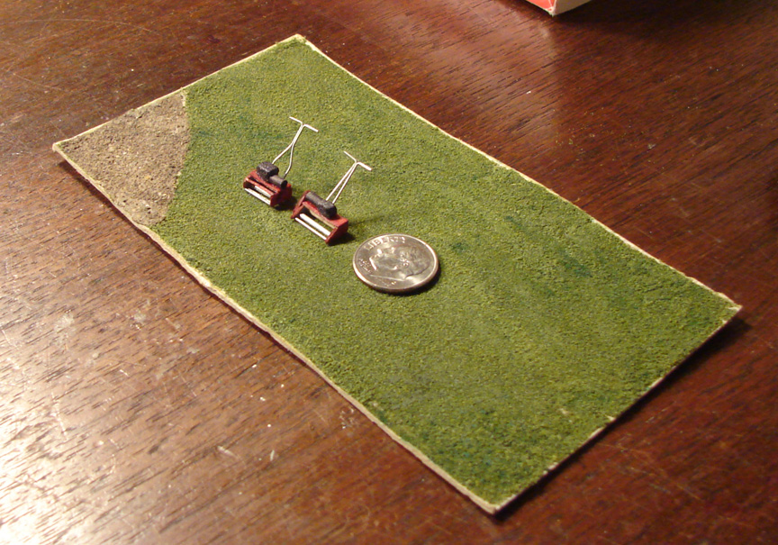 HO scale reel mowers