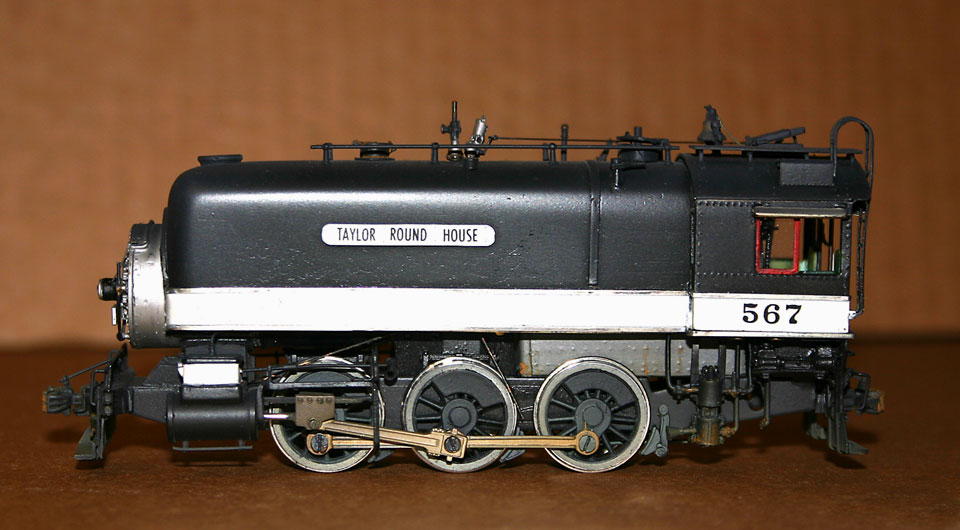 SCRATCH BUILT TAYLOR ROUND HOUSE SWITCHER # 567